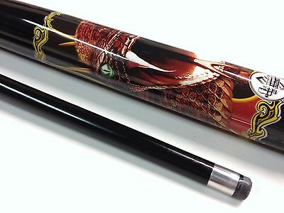 COBRA SNAKE FANG Graphite Pool Snooker Billiard Cue Fathers Day Christmas Gift