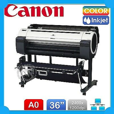 Canon iPF-770 A0 Large Format 36-inch Network Color Inkjet Printer+Cutter+2-Year