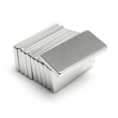 10/20/50/100Pcs Neodymium Block Magnet 20x10x2mm Super Strong Rare Earth Magnets