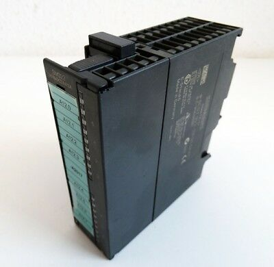 Siemens SIMATIC S7 6ES7 322-1BF01-0AA0 6ES7322-1BF01-0AA0 E:5 + Connector -used-