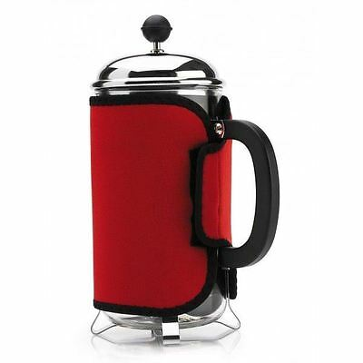 Cosy Red Cafetiere, Keep Coffee Hot!