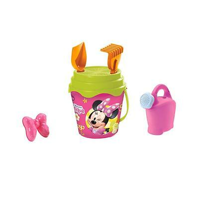 Strandeimerset Disney Minnie Mouse im Shopping Bag Eimer Sandspielzeug