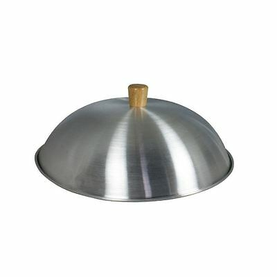 "Dexam Aluminium Wok Lid  - Suitable For 14"" - 34Cm Woks - Sits Inside The Wok"