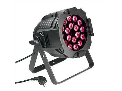 Cameo Studio PAR 64 CAN - 18 x 3 W RGB LED schwarz
