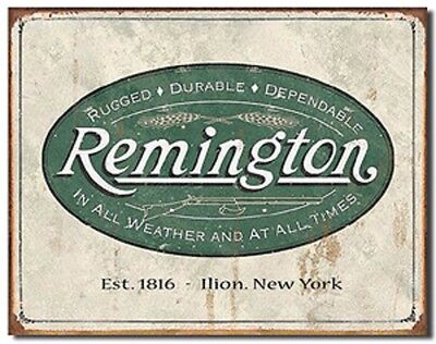 16 X 12 Remington Metal Sign Reproduction