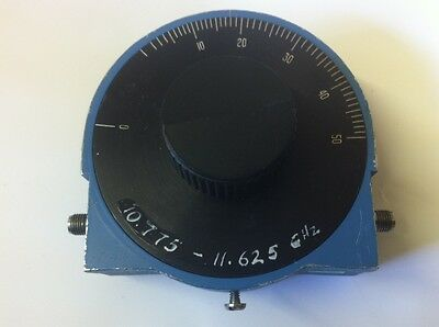 ARRA 0 TO 50dB  10.775 - 11.625 Ghz  ROTARY VARIABLE RF ATTENUATOR        ae1y10