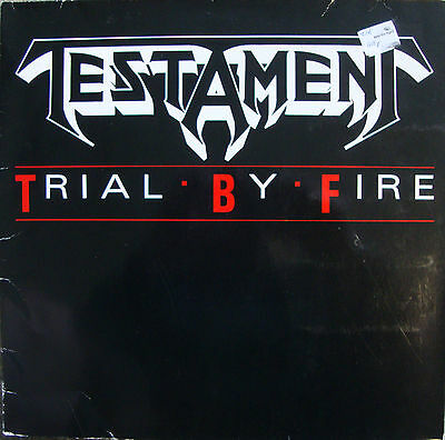 "Testament Trial By Fire (PS) 12"" Vinyl Single"