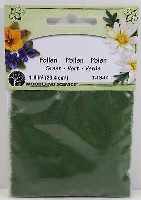 OO HO Scale Woodland Scenics Green color Pollen T4644  FNQHobbys