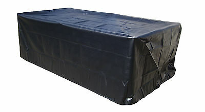 OUT DOOR Pool Snooker Billiard Table Cover To the floor Heavy Duty Vinyl 7ft 7'