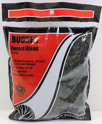OO HO Scale Woodland Scenics Bushes Forest Blend FC149  FNQHobbys