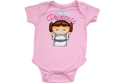 Space Opera Star Wars I'm The Princess Leia Snapsuit Infant Onesie Baby Romper