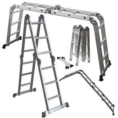 Giant 11.5 ft Little Step Extension scaffolding Ladder System for Library/Attic