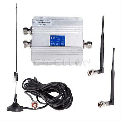 CDMA 850Mhz Mobile Cell Phone Signal Booster Repeater Amplifier + Antenna Kit