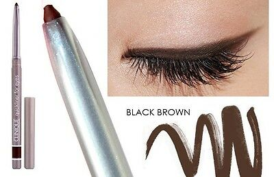Clinique Quickliner for Eyes -Black Brown- New