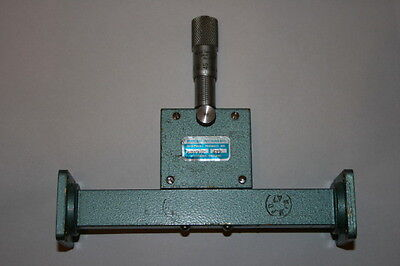 MARCONI VERNIER WG18 VARIABLE ATTENUATOR  0 - 60dB  12.4 - 18.0Ghz       ae1y17