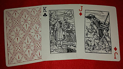 New Dance of Death Vintage Antique Original Macabre Illustration Playing Cards