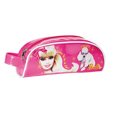 Trousse scolaire ecole primaire coll ge fille tann 39 s rose for Barbie chien piscine
