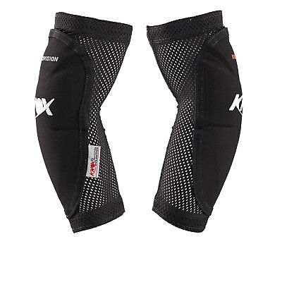 Knox Guerilla Elbow Guards CE Armour Motorcycle Protectors Stretch Mesh Non Slip