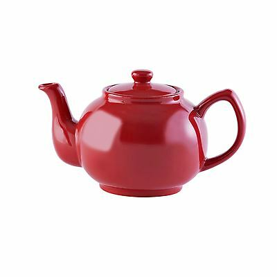 Price & Kensington Brights Red 6Cup Teapot