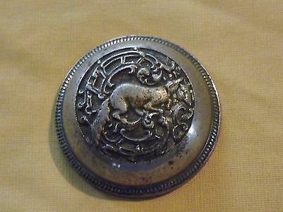 Vintage Fox Decorative Metal Bell Cover
