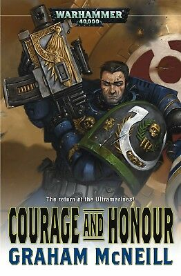COURAGE AND HONOUR (HARDBACK) BY GRAHAM McNEILL