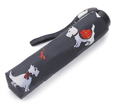 Incognito Folding Umbrella - Scottish Scotties
