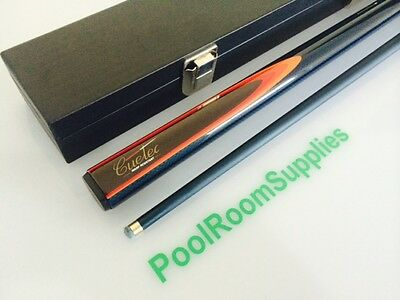 CUETEC GRAPHITE Blue Pool Snooker Billiard Cue and Case Christmas Gift (BLUE)