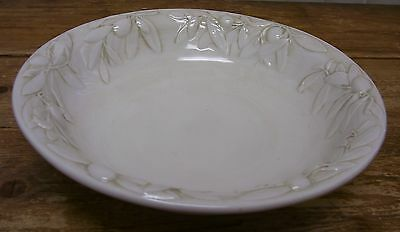 Williams Sonoma Tuscan Olive 1 Large Pasta Serving Bowl Italy Branch 12 inch