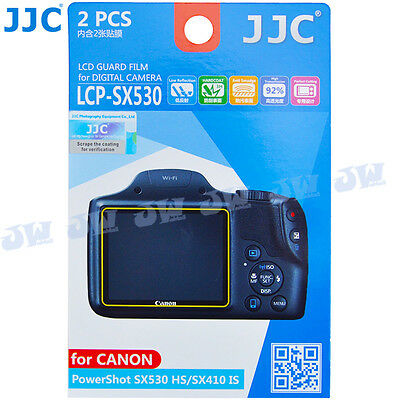 JJC LCD Guard Screen Protector For Canon Powershot SX530 HS SX410 IS SX430 IS