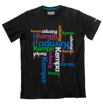 Kempa Floats T-Shirt Herren Tee Shirt grau