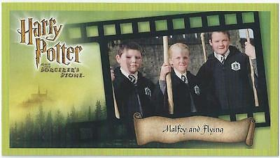 Harry Potter - And The Sorcerer's Stone - Card 67 - Malfoy And Flying