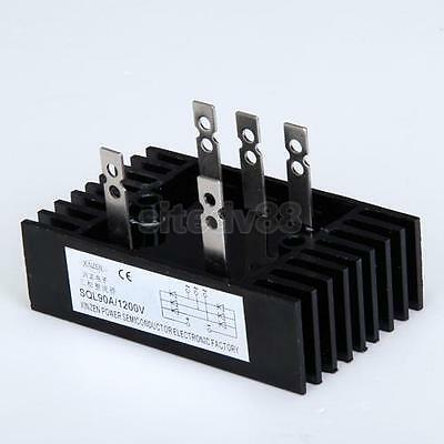 New 3 Three Phase Diode Bridge Rectifier 90A 1200V SQL90A Black