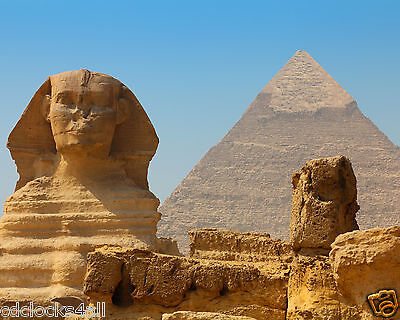Great Pyramid / Sphinx Of Giza 8 x 10 / 8x10 GLOSSY Photo Picture