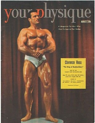 Your Physique Bodybuilding muscle magazine CLARENCE ROSS 8-51