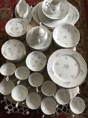 Set Of 96 Pc Mikasa Cecelia 9348 Fine China  Made In Japan Excellent Condition