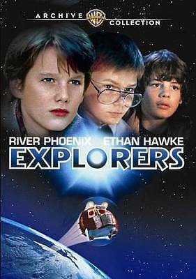 Explorers DVD (1985) - Ethan Hawke, Jason Presson, River Phoenix, Joe Dante