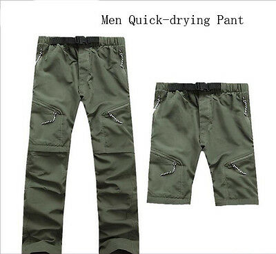 6941 New Men's Quick-drying Pants Fishing Hiking Outdoors Detachable Trousers
