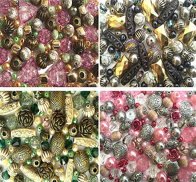 60g Jewellery Making Beads Necklace Bracelet Mixed Kits