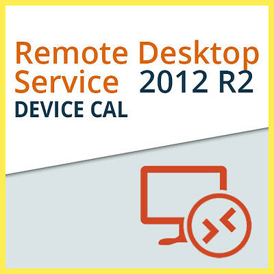 Microsoft Remote Desktop Services 2012 R2 - 1x DEVICE CAL