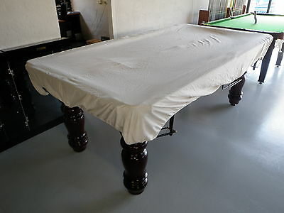 "Pool Snooker Billiard Table Cover (Fitted CALICO) 9' x 4'6"" TABLE RRP $99.90"