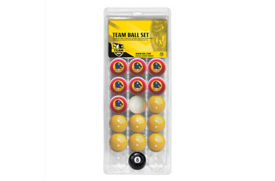 Brisbane Broncos NRL Pool Snooker Billiards Balls Full Aramith Ball boxed Set