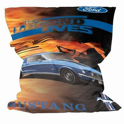 MASIVE FORD Mustang LARGE Bean Bag Fathers Day Gift Man Cave Bar Pool Room Gift