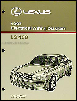 1997 Lexus LS 400 Wiring Diagram Manual NEW Original LS400 OEM Electrical Book