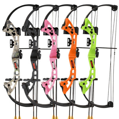 "Bear Archery - Brave Youth Compound Bow - Ages 8 and up - 25lbs, 19"" Peak Draw"