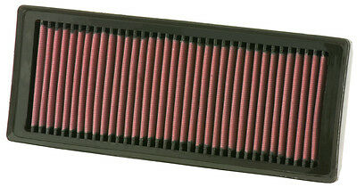 K&N Air Filter Element 33-2945 (Performance Replacement Panel Air Filter)