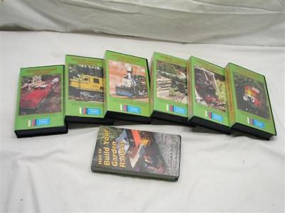 Set Garden Railway Dreamin' VHS Tapes Train Layout Model Railroad How To Video