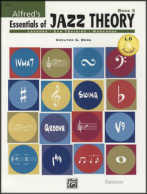 Essentials of Jazz Theory 3 Music Book/CD Shelton G Berg