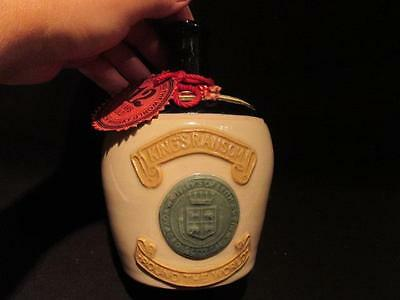 King's Ransom Whiteley & Co Distillers Pitlochry Vintage Bottle with Tag & Cork