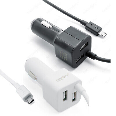 Auto Ladekabel USB Adapter Alle Samsung Galaxy Nokia HTC Sony Handy