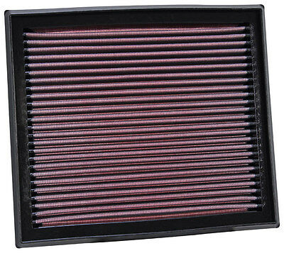 K&N Air Filter Element 33-2873 (Performance Replacement Panel Air Filter)